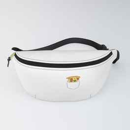 Funny Pizza in Pocket Fanny Pack
