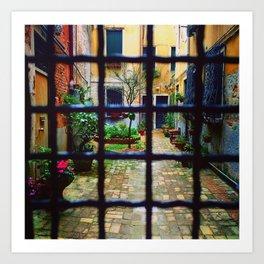 Venice Gate Art Print