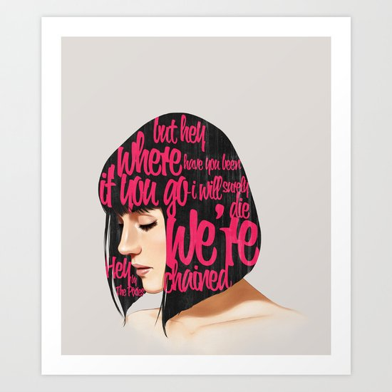 Songs VI.  Art Print