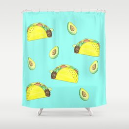 AvoTaco Shower Curtain