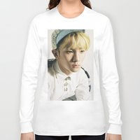 shinee Long Sleeve T-shirts featuring Key - SHINee by Felicia