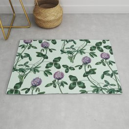 Live in a clover Rug