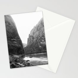 A bend in Glen Canyon of the Colorado River, Grand Canyon, ca.1898 Stationery Cards