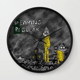 Breaking Regular Wall Clock