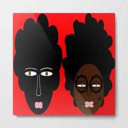 bbnyc's 2 black women Metal Print