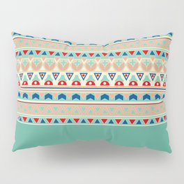 Ethnic ornament , 13 Pillow Sham