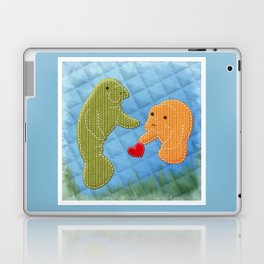 Manatee Love Laptop & iPad Skin