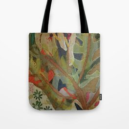 Exotic abstract patterns of nature Tote Bag