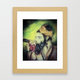 Smoke! Framed Art Print
