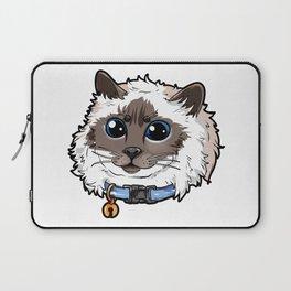 Birman Cat Cats Love Cute funny Kitty Present Laptop Sleeve