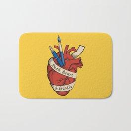 Head, heart & hustle Bath Mat
