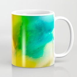 The Fall is Coming -  Abstract Ink and Resin Art Coffee Mug