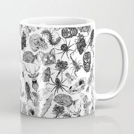 Pattern Black Coffee Mug