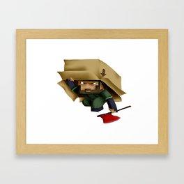 Solid Stobo Avatar Framed Art Print