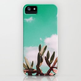 Vintage cactus life iPhone Case