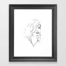 Part Ways Framed Art Print