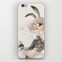 koi iPhone & iPod Skins featuring Koi by Xiuyuan Zhang