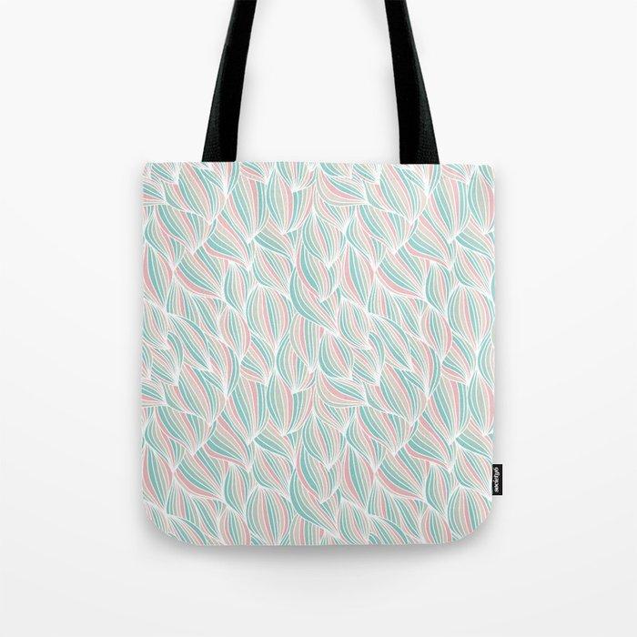 Cool Colorful Ocean Waves Tote Bag