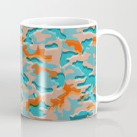 military Mugs featuring Autumn military by Pimpa Gerroc