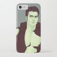 derek hale iPhone & iPod Cases featuring Derek Hale by Sudjino