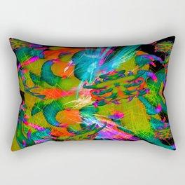 Worm Tumor Colony (Banana Scream) Rectangular Pillow