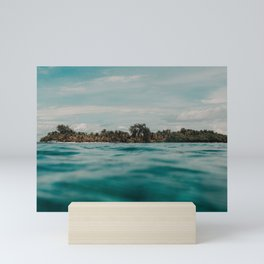 Shipwrecked Ocean Blues Mini Art Print