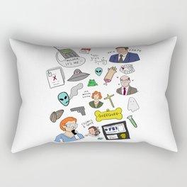 The X-Files Rectangular Pillow