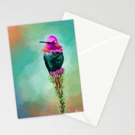 Pretty litte hummingbird Stationery Cards