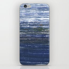 Deep koamaru abstract watercolor iPhone Skin