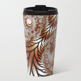 Tree Dance Fractal Travel Mug