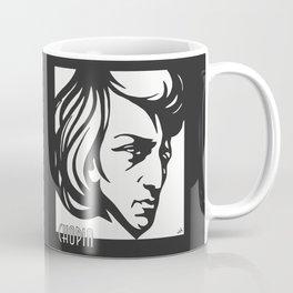 Art Deco style Chopin Coffee Mug