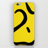 woody iPhone & iPod Skins featuring Woody by Lucas de Souza