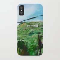hollywood iPhone & iPod Cases featuring Hollywood by James Peart