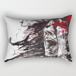 The Pain of Cluster Headache Rectangular Pillow