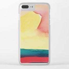 Sunset for Ellen Clear iPhone Case