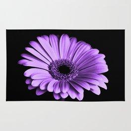 Purple Chrysanthemum Rug