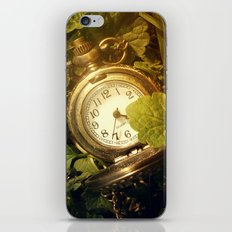 Out Of Time iPhone & iPod Skin