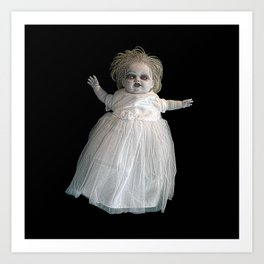 Zombie Doll. Art Print