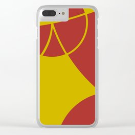 When the lady sings Clear iPhone Case