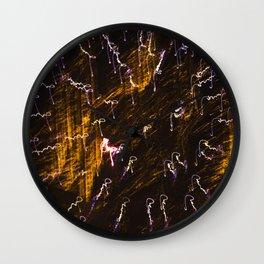 Light Show 2 Wall Clock