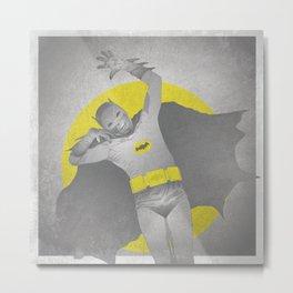 Batwesome Metal Print