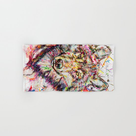 Wolf // Cuetlachtli Hand & Bath Towel