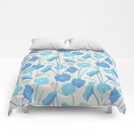 LOTUS POND Pattern Comforters