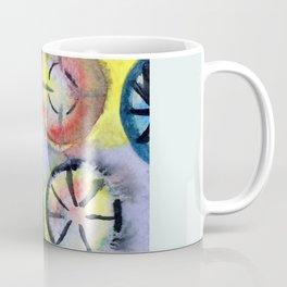 Themes on a bike wheel Coffee Mug