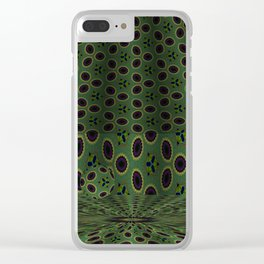 Soothing Orbital Voids 5 Clear iPhone Case