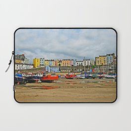 Tenby Harbour . Sunlight. Pembrokeshire. Wales. Laptop Sleeve