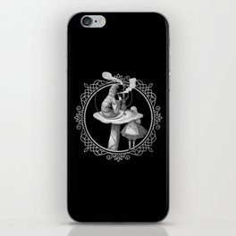 Alice and the Smoking Caterpillar - Alice in Wonderland iPhone Skin
