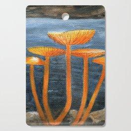 Tangerine Fungi by Teresa Thompson Cutting Board