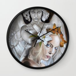 Harmless Monster Wall Clock