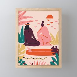 Soul sisters Framed Mini Art Print
